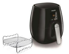 Philips - Viva Digital Air Fryer - Black