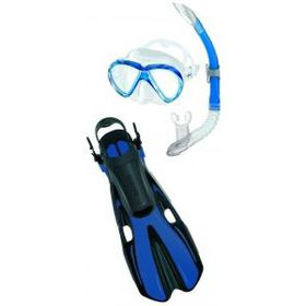 Mares Aquazone Set - Volo One Marea - Blue - Medium