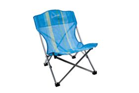 Kaufmann - Fold Up Beach Chair - Blue Stripe