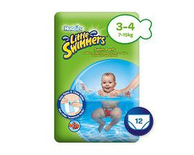 Huggies - Little Swimmers - (Size: 3 - 4)