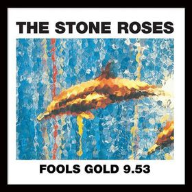The Stone Roses - Fools Gold Framed Album Cover Print