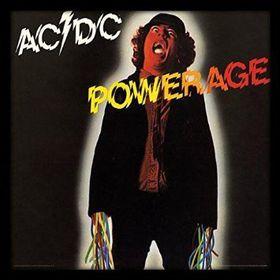 AC/DC - Powerage Framed Album Cover Print