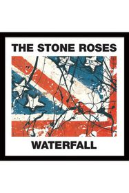 The Stone Roses - Waterfalls Framed Album Cover Print