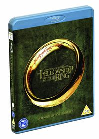 Lord Of The Rings The Fellowship Of The Ring Extended Edition (Blu-ray)