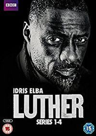 Luther - Series 1-4 [2015] (DVD)