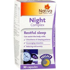 Nativa Night Complex Capsules - 30s
