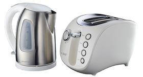 Russell Hobbs - 2 Piece Breakfast Pack - White