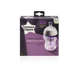 Tommee Tippee - 260ml Advanced Comfort Bottle 2 Pack