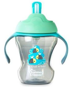 Tommee Tippee - 230ml Easy Straw Cup - Bees