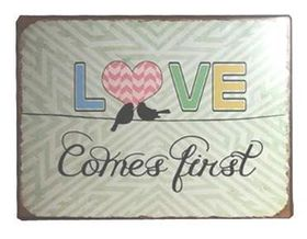 Pamper Hamper - Love Metal Plaque