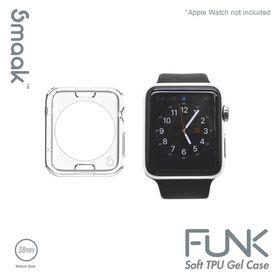 Smaak Funk TPU 38mm Apple Watch Gel Case Clear