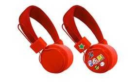 Jivo Kids Heapdhones - Red