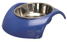 Rogz 2-in-1 Luna Blue Dog Bowl - Medium