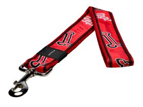 Rogz Fancy Dress Red Rogz Bone Fixed Dog Lead - 2XL