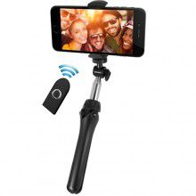MACALLY - Extendable Tripod Bluetooth Selfie Stick