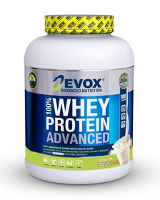 Evox 100% Whey Protein Advanced - Cookies & Cream 3.2kg
