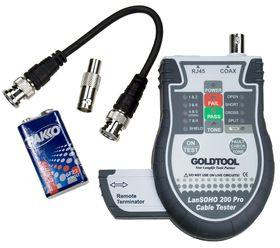 Goldtool RJ45 BNC Cable Tester