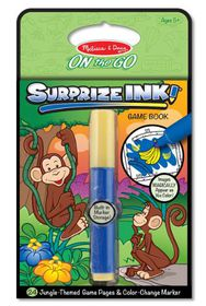 Melissa & Doug Surprize Ink Book - Jungle
