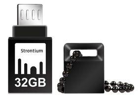 Strontium 32GB NITRO OTG USB 3.0 Flash Drive - Black