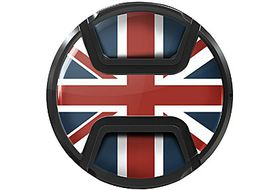 Kaiser Snap On Lens Cap Union Jack 49mm