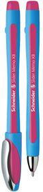 Schneider Slider Memo XB Ballpoint Pen - Pink Ink