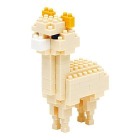 Nanoblock - Alpaca Cream Colour