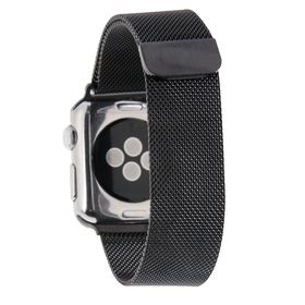 Tuff-Luv Magnetic Stainless Steel Watchband for Apple Watch 38mm - Black