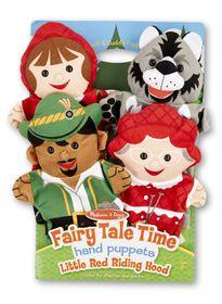 Melissa & Doug Little Red Riding Hood Hand Puppets
