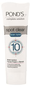 Ponds Spot Clear Facial Foam & Scrub - 100ml