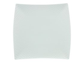 Maxwell and Williams White Basics Diamonds Square Platter - 37.5cm