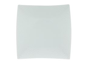 Maxwell and Williams - White Basics Diamonds Square Entree Plate - 23cm