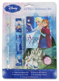 Disney Frozen Family Forever 5 Piece Stationery Set with Notebook