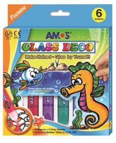 Amos Glass Deco Set