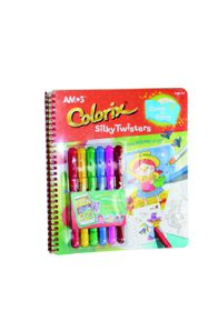Amos 6 Colorix Silky Twisters With Workbook