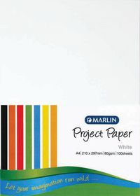 Marlin A4 Project Paper 80gsm 100's - White