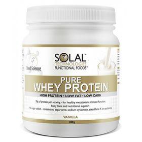 Solal Pure Whey Pro Concent-Vanilla - 400g