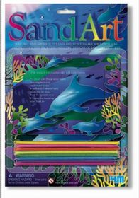 4M Sand Art - Dolphin