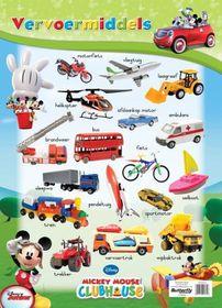 Butterfly Wallchart - Mickey Mouse Vervoermiddlels