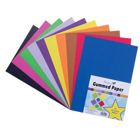Butterfly A4 Gummed Paper 10 Sheets