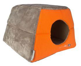 Rogz - Catz Multi-Purpose Igloo Bed - Medium - Birds On Wire Design