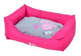 Rogz - Spice Podz Dog Bed - Medium - Pink Paw Design