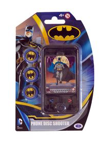 Justice League Batman Phone Disc Shooter