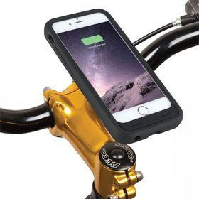 Tuff-Luv Mount Case Power Plus Bike Kit For iPhone 6/6S Plus Waterproof Rainguard