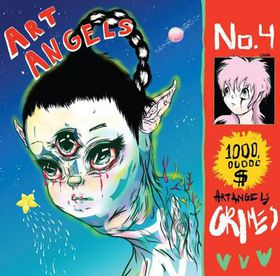 Grimes-Art angels (CD)