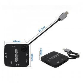 Tuff-Luv USB-C to USB Hub (3 ports) + SD Card Reader