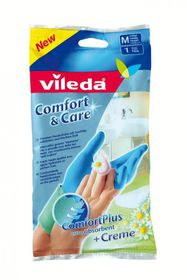 Vileda - Comfort and Care Gloves - Small