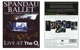 Spendau Ballet - The Reformation Tour 2009 - LIVE (DVD)