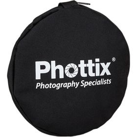 Phottix 5-in-1 Premium Circular Reflector with Handles 120cm