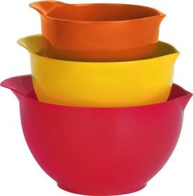 Trudeau Mixing Bowls Set - 3 Piece
