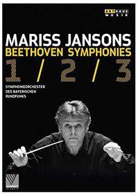Beethoven: Symphonies Nos. 1-3 (DVD)